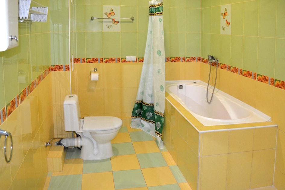 Забронировать номер с ванной в Судаке