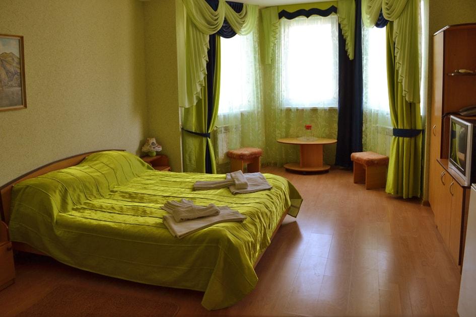 Двухместный номер в отеле Воробьиное гнездо