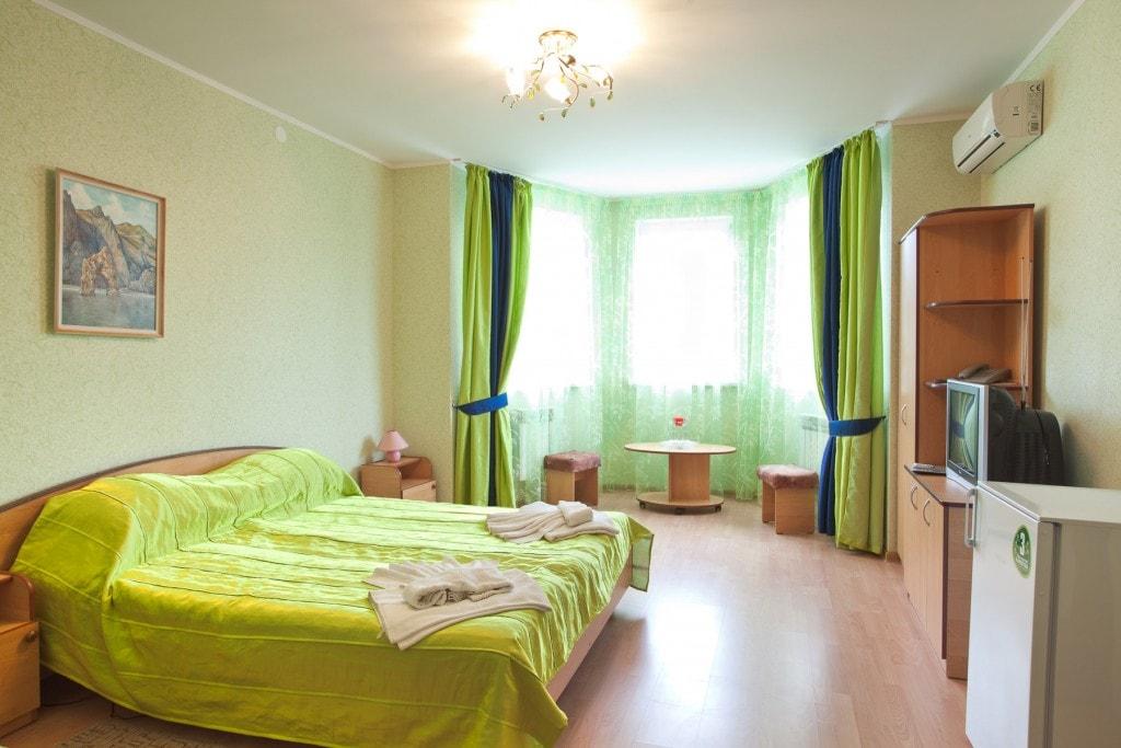 Двухместный люкс в отеле Воробьиное гнездо