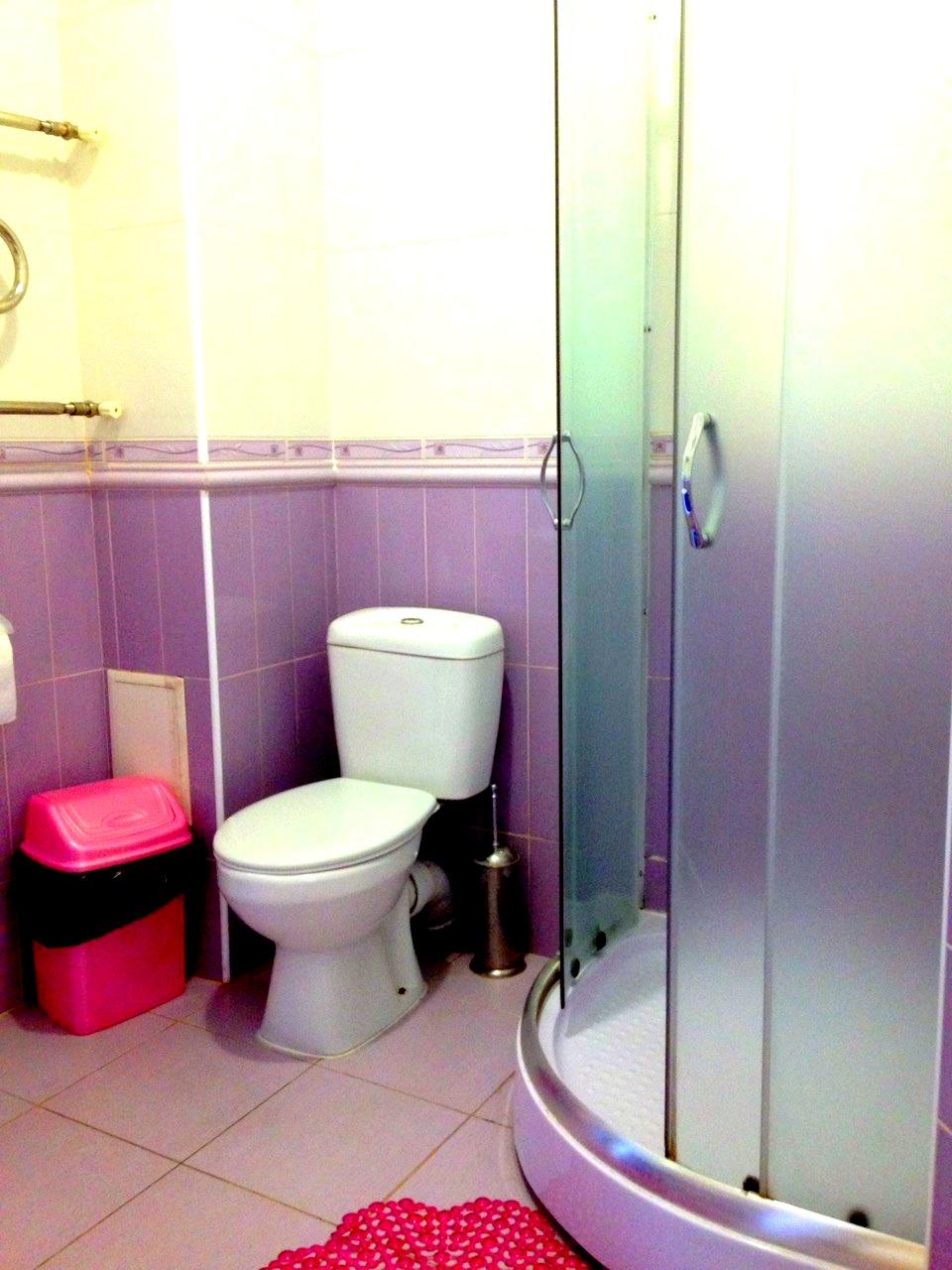 Душевая и туалет первого номера.