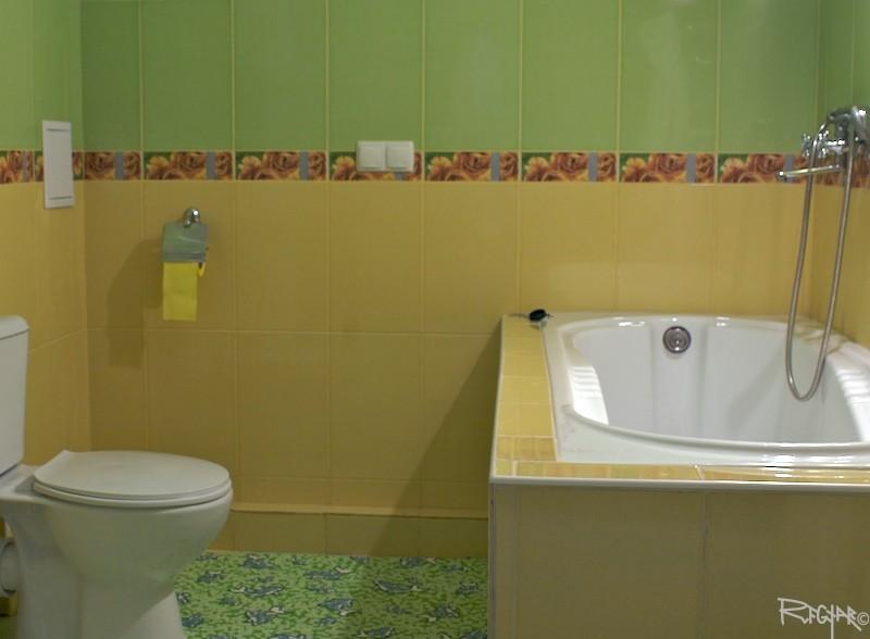 Номер люкс с ванной