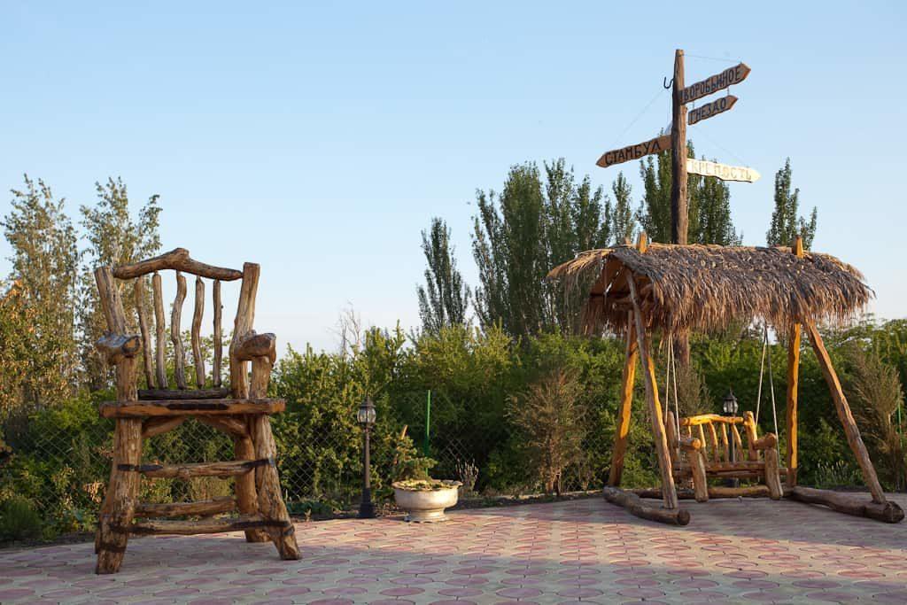 Детская игровая площадка для детей. Крым Судак 2018